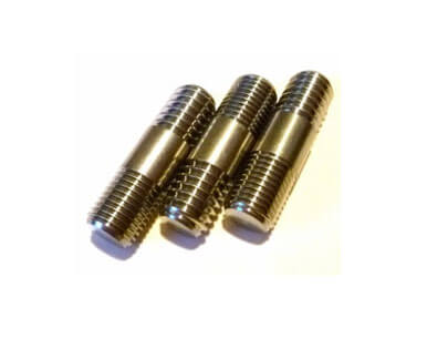 COPPER DOUBLE ENDED STUD