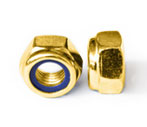 Copper self locking nuts