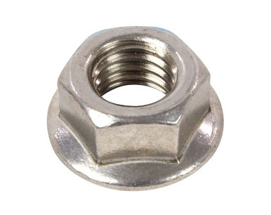 SS 321H SERRATED FLANGE NUT